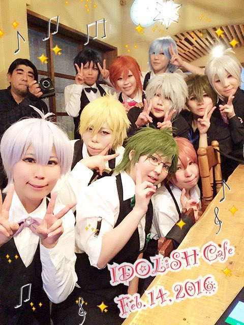 IDOLiSH7のコスプレ撮影会